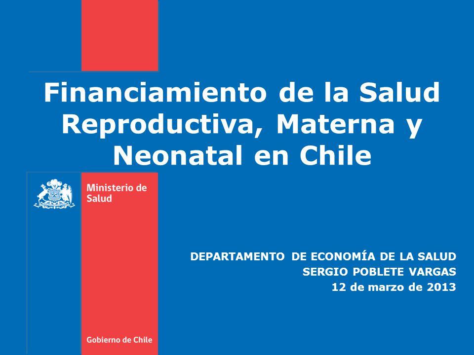 Departamento de Economía de la Salud CONCLUSIONES 22