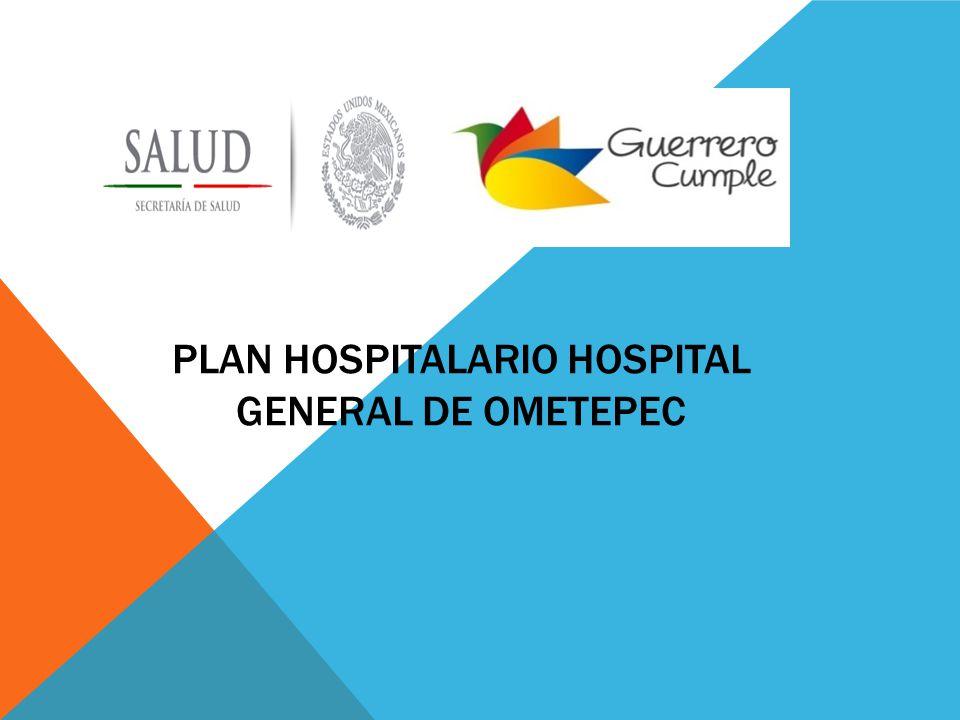 PLAN HOSPITALARIO HOSPITAL GENERAL DE OMETEPEC