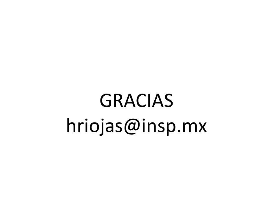 GRACIAS hriojas@insp.mx