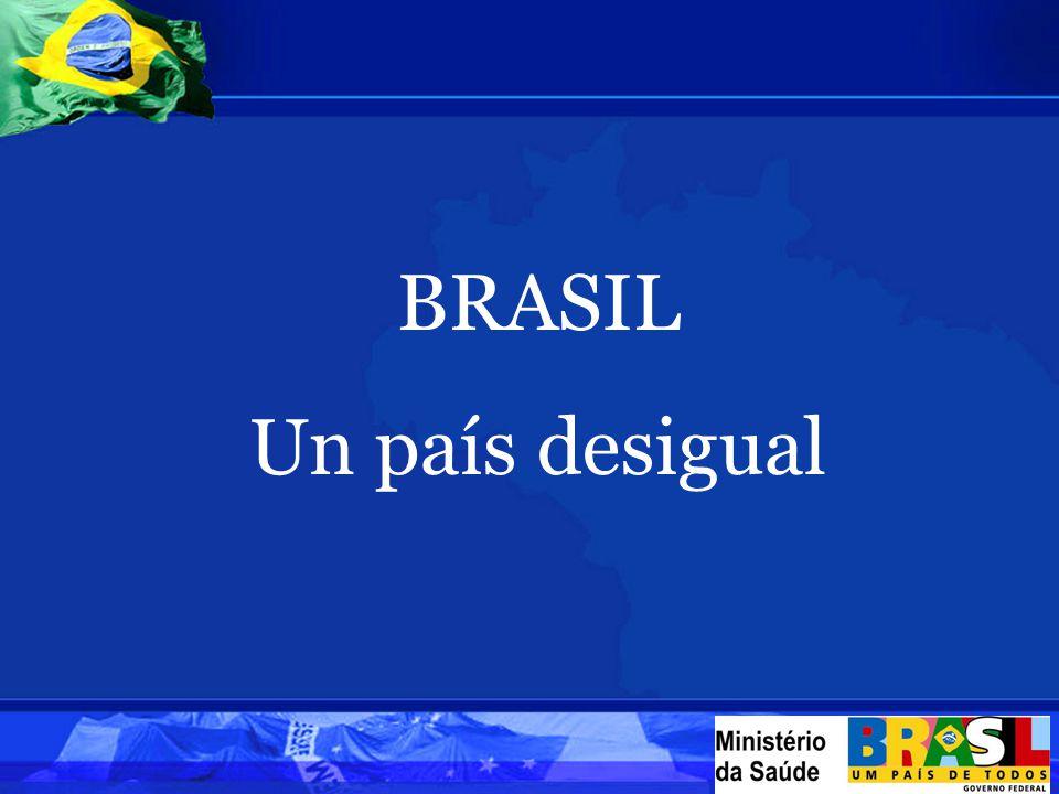 BRASIL Un país desigual