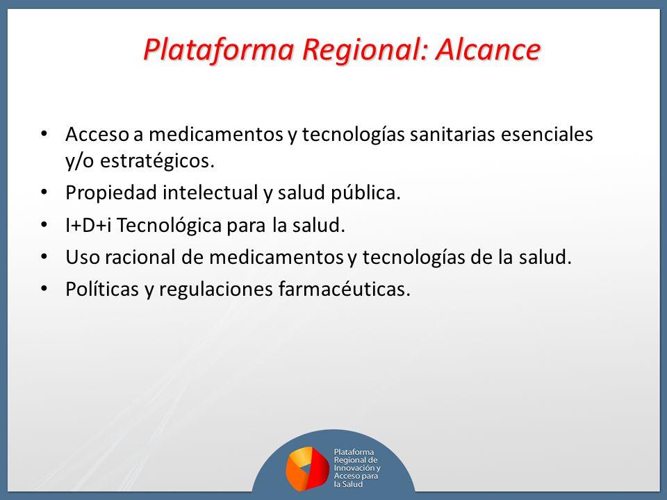 Acceso a medicamentos y tecnologías sanitarias esenciales y/o estratégicos. Propiedad intelectual y salud pública. I+D+i Tecnológica para la salud. Us