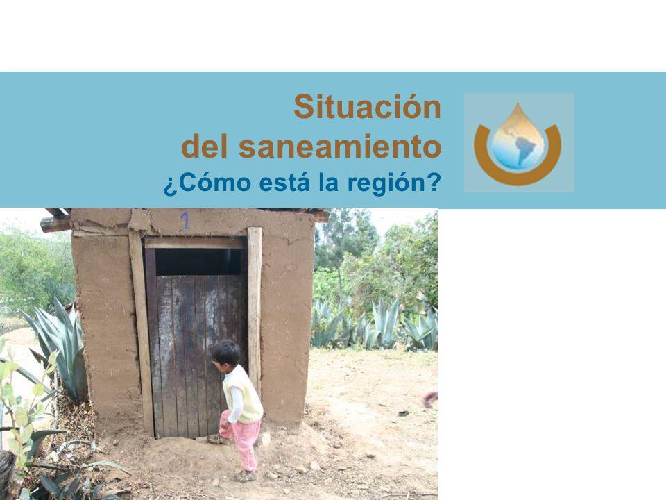 Situación del saneamiento ¿Cómo está la región?