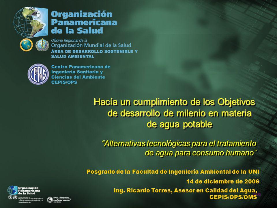 2006 INTRODUCCIÓN En noviembre 2003, en Brasilia, Conferencia de alto nivel Declaración de Brasilia, es una llamada a la acción y ejecución que refuerza el principio de asociación inherente a la Declaración del Milenio y a los convenios de Cumbres anteriores de las Américas.