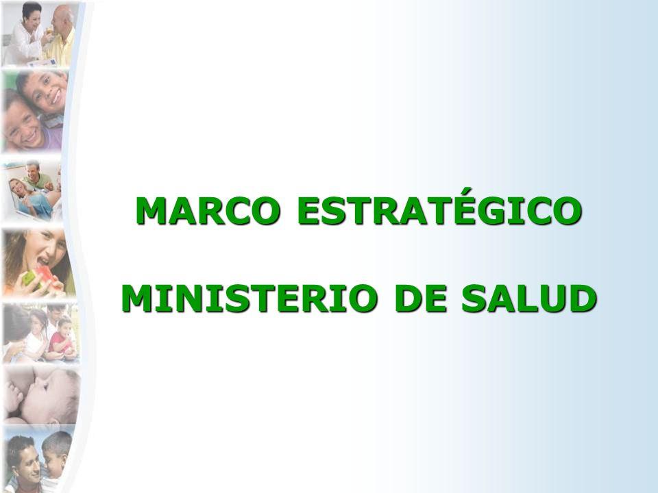 MARCO ESTRATÉGICO MINISTERIO DE SALUD