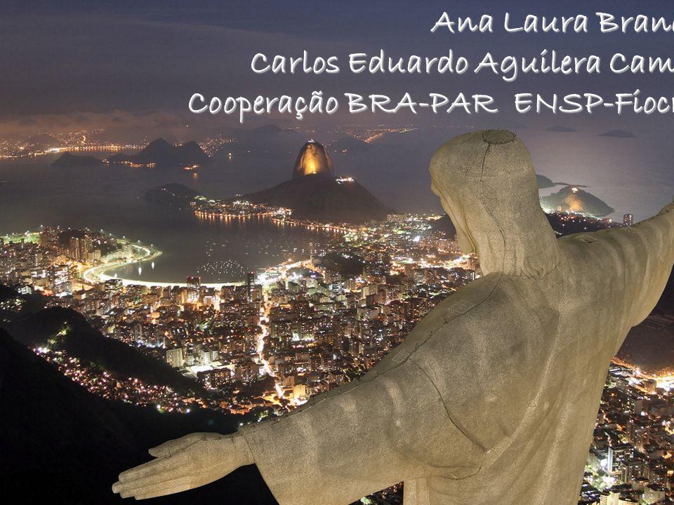 Ana Laura Brandão Carlos Eduardo Aguilera Campos Cooperação BRA-PAR ENSP-Fiocruz