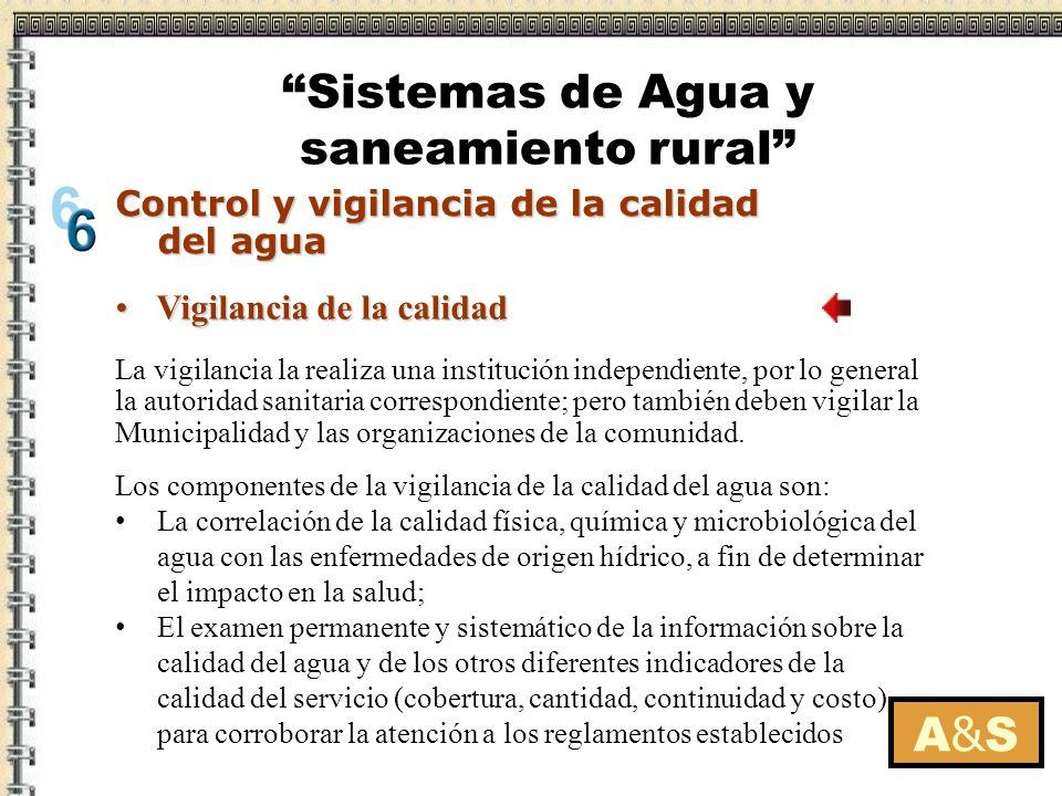 A&SA&S La vigilancia la realiza una institución independiente, por lo general la autoridad sanitaria correspondiente; pero también deben vigilar la Mu
