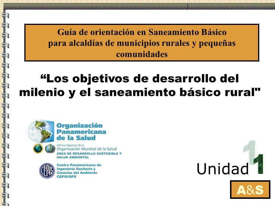 Los objetivos de desarrollo del milenio y el saneamiento básico rural