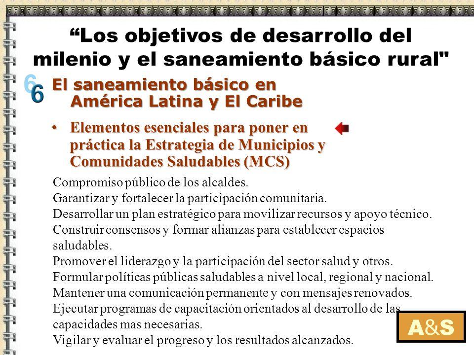 Elementos esenciales para poner en práctica la Estrategia de Municipios y Comunidades Saludables (MCS)Elementos esenciales para poner en práctica la E
