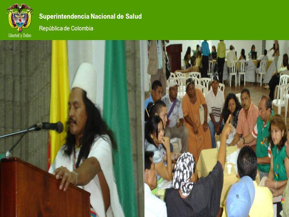Superintendencia Nacional de Salud República de Colombia