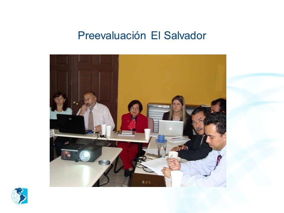 Preevaluación El Salvador