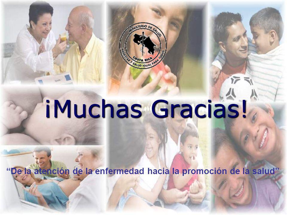 ¡Muchas Gracias! De la atención de la enfermedad hacia la promoción de la salud