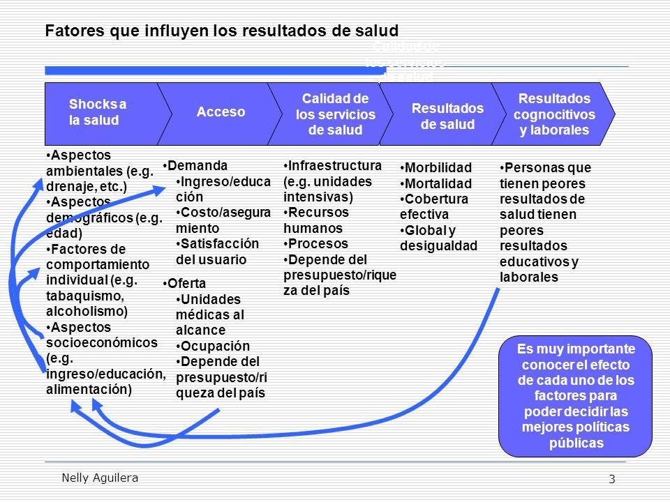 4 Nelly Aguilera Para el caso de México, se ha documentado que la tasa de mortalidad de niños así como la desigualdad ha venido bajando en los últimos años … Por 1,000 TMM5 IC TMM5 e Indice de Concentración en los últimos años: Nacional Fuente: Aguilera, Marrufo y Montesinos (2006).
