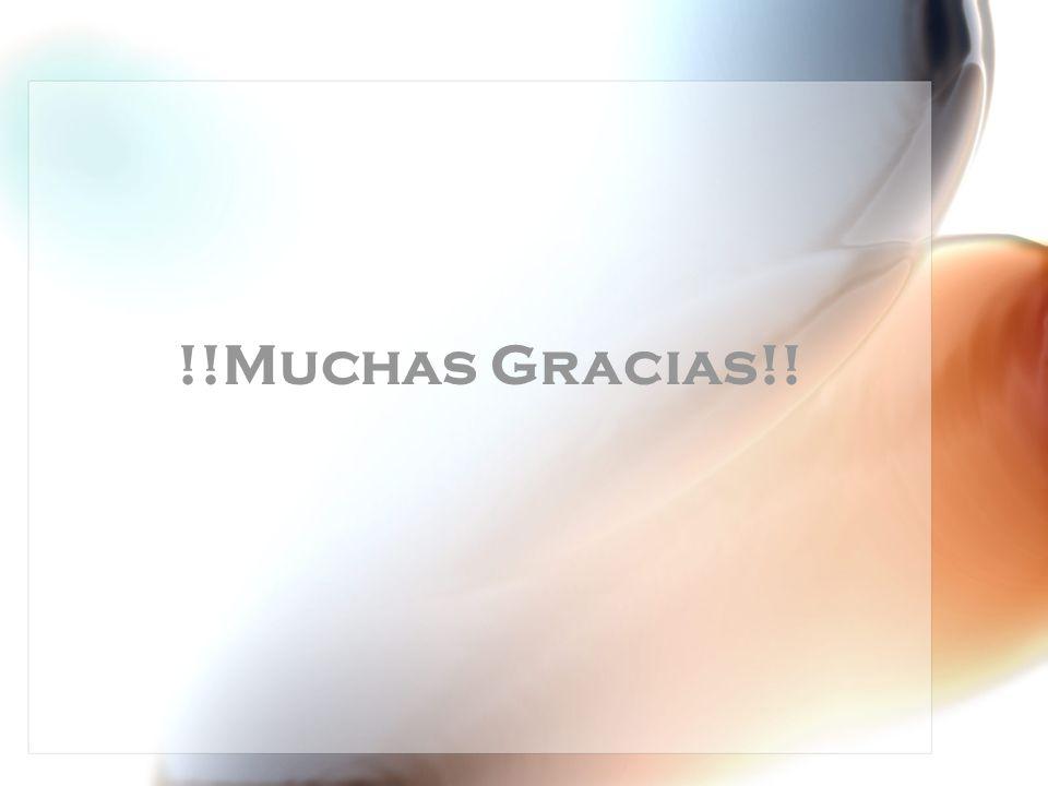 !!Muchas Gracias!!