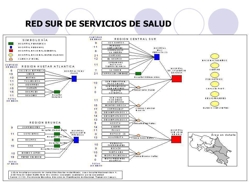 RED SUR DE SERVICIOS DE SALUD