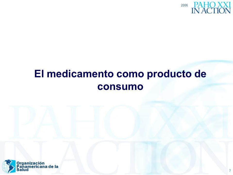 2006 Organización Panamericana de la Salud 14 Los grandes desafíos 1.