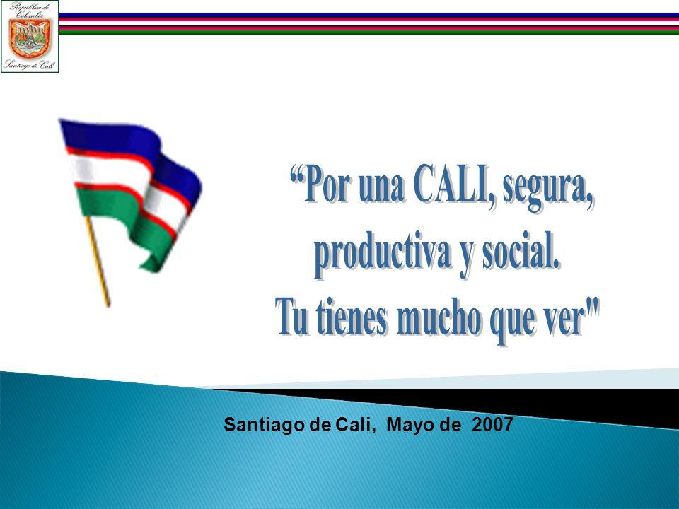 Santiago de Cali, Mayo de 2007