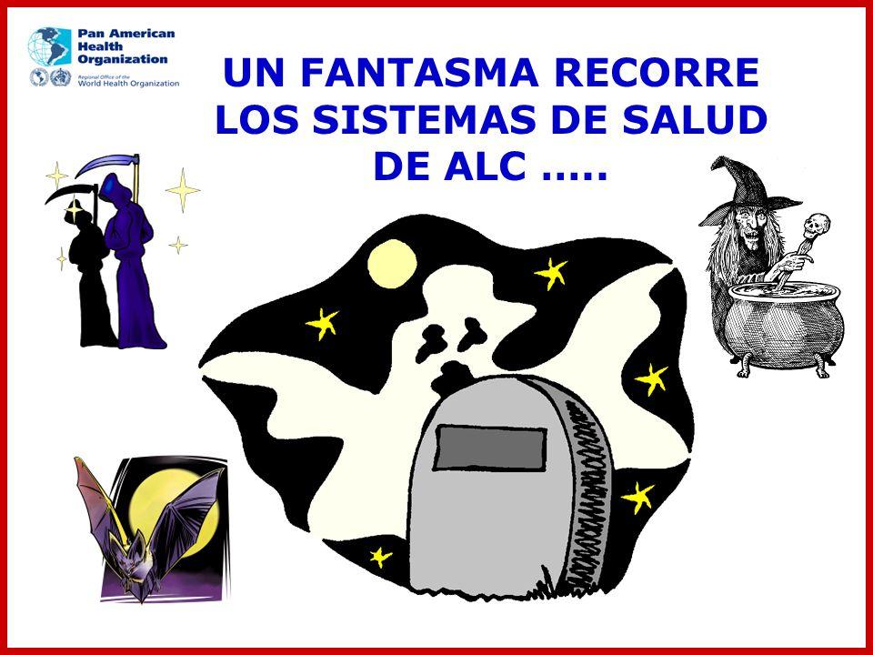UN FANTASMA RECORRE LOS SISTEMAS DE SALUD DE ALC …..