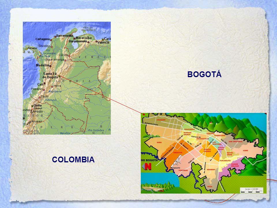 Área Urbana Área Rural BOGOTÁ COLOMBIA