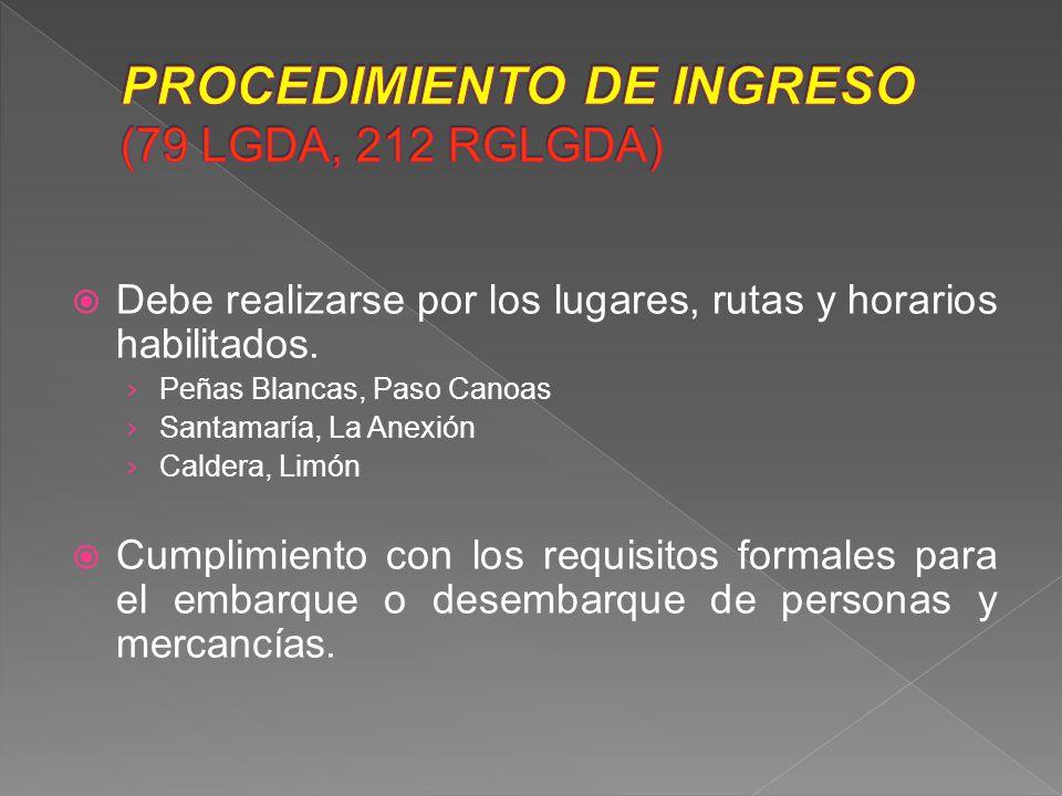 Consiste en la entrada de mercancías de procedencia extranjera, que cumplan con las formalidades y los requisitos legales, reglamentarios y administrativos para el uso y consumo definitivo, dentro del territorio nacional.