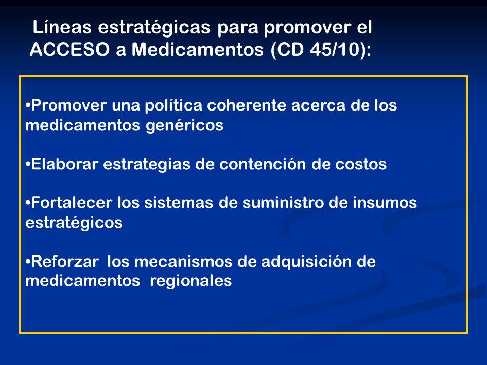 El Fondo Estratégico: Una Iniciativa de los Países Establecido en 2000 por el Director de la OPS al pedido de los países: 42avo Consejo Directivo ResolutionTitleIssuing BodyDate of Issue CD47.