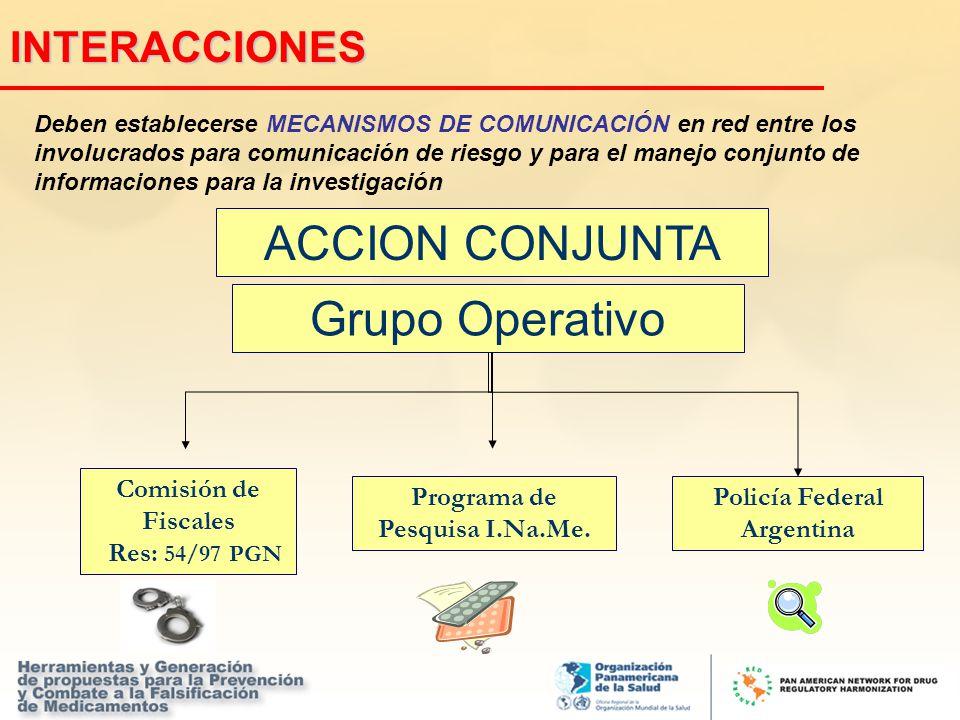 Deben establecerse MECANISMOS DE COMUNICACIÓN en red entre los involucrados para comunicación de riesgo y para el manejo conjunto de informaciones par