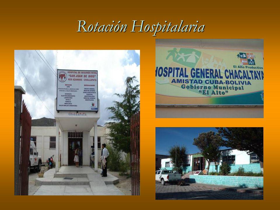 Rotación Hospitalaria