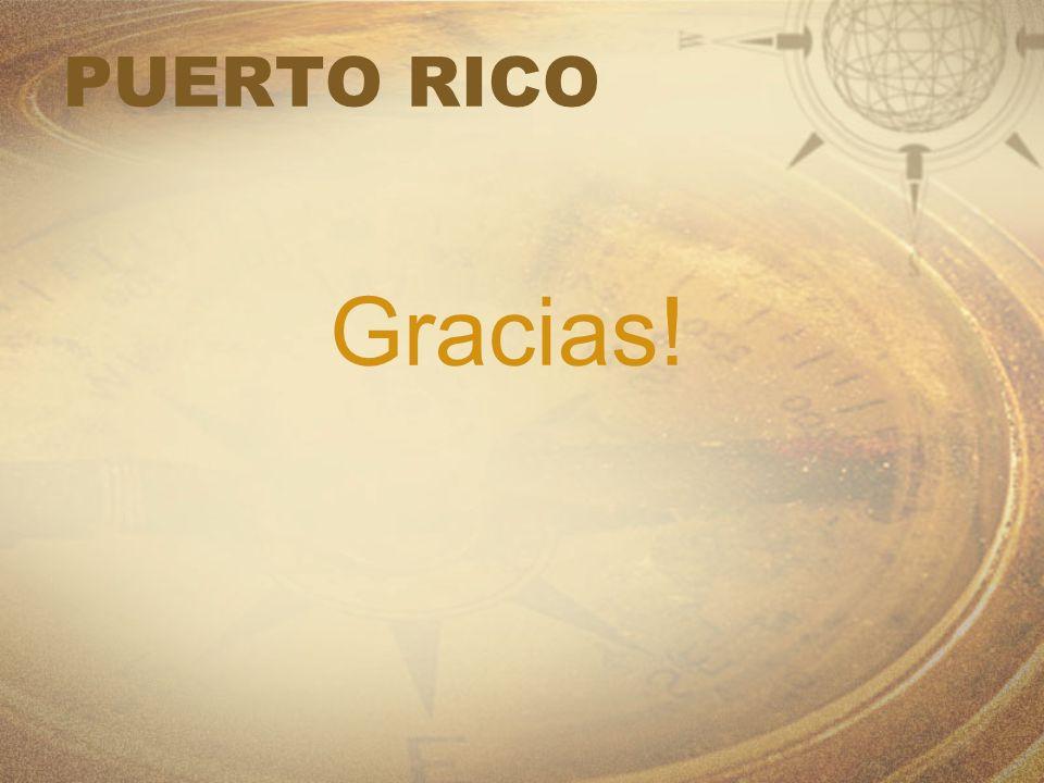 PUERTO RICO Gracias!