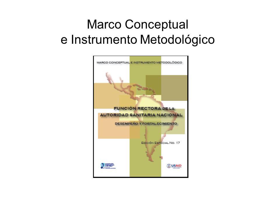 Marco Conceptual e Instrumento Metodológico www.lachealthsys.org
