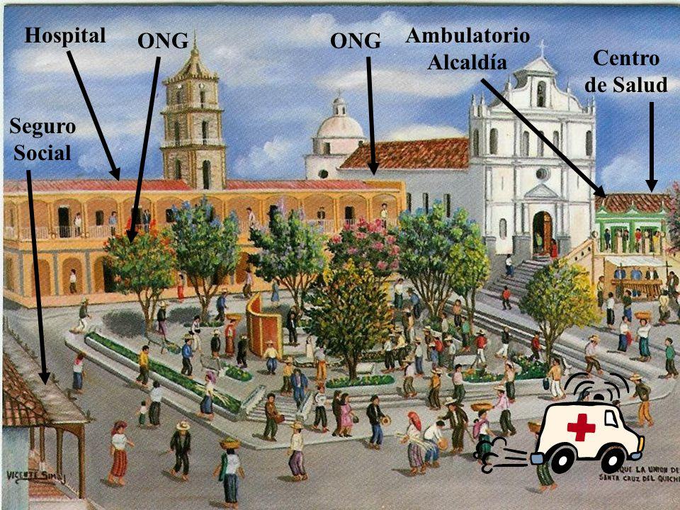 ONG Centro de Salud Seguro Social HospitalAmbulatorio Alcaldía ONG