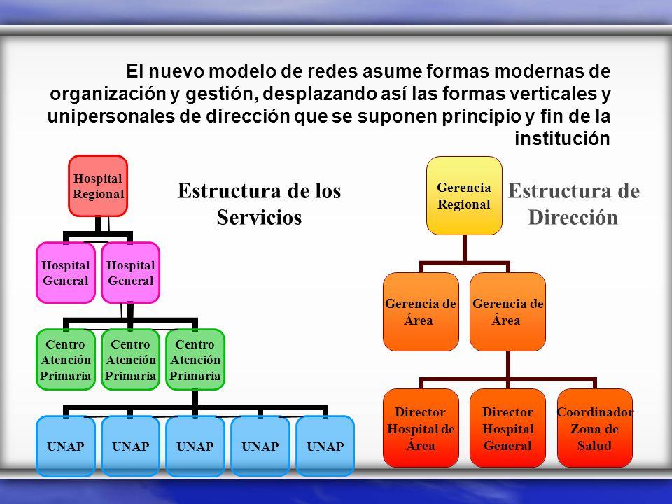 El nuevo modelo de redes asume formas modernas de organización y gestión, desplazando así las formas verticales y unipersonales de dirección que se su
