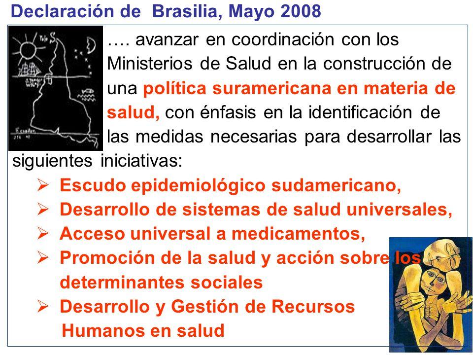 Declaración de Brasilia, Mayo 2008 ….