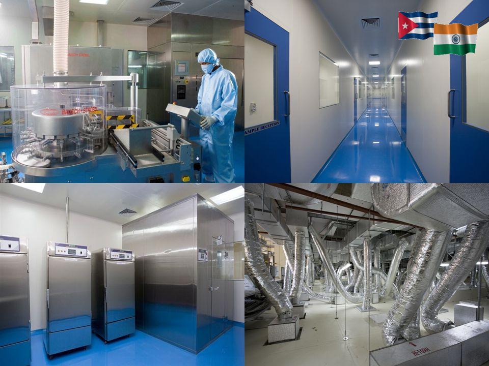 Planta del Centro de Inmunología Molecular en India