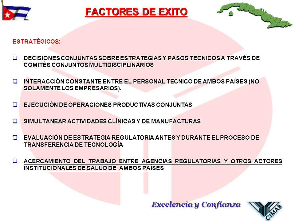 FACTORES DE EXITO ESTRATÉGICOS: DECISIONES CONJUNTAS SOBRE ESTRATEGIAS Y PASOS TÉCNICOS A TRAVÉS DE COMITÉS CONJUNTOS MULTIDISCIPLINARIOS DECISIONES C