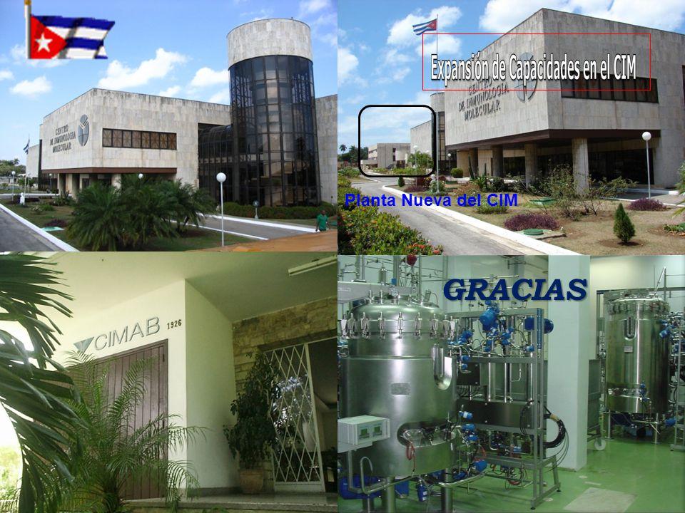 GRACIAS Planta Nueva del CIM