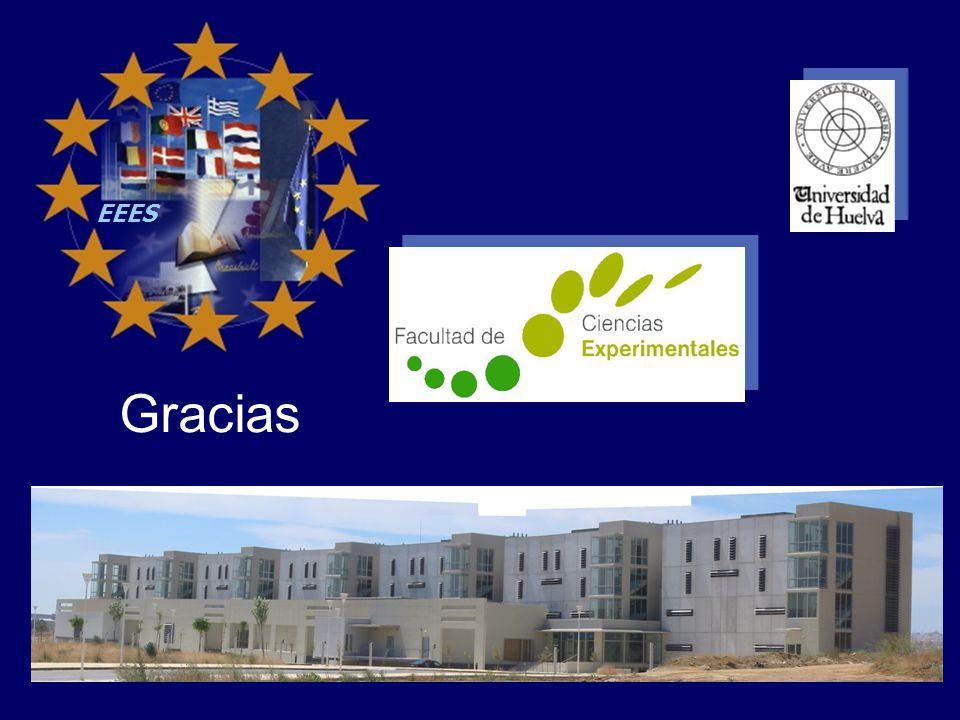 EEES La implantación del la Experiencia Piloto de adaptación al ECTS en la Titulación de Ciencias Ambientales Gracias