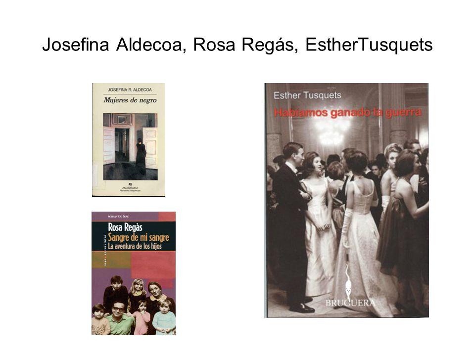 Josefina Aldecoa, Rosa Regás, EstherTusquets