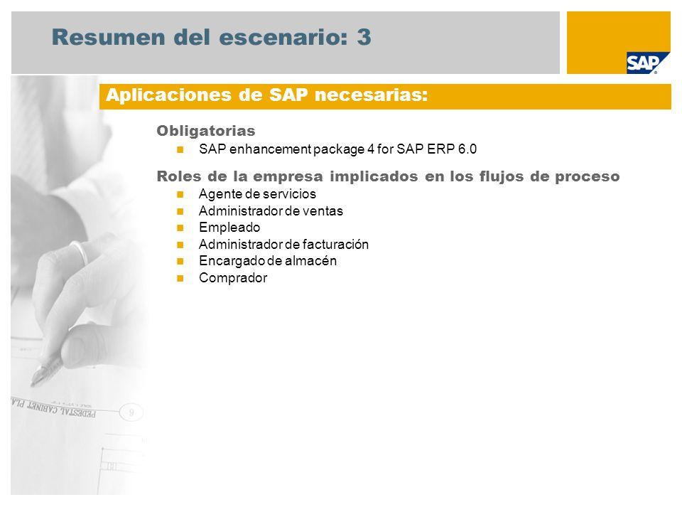 Resumen del escenario: 4 Reparaciones en el centro Un agente de servicio crea una notificación de servicio en el sistema.