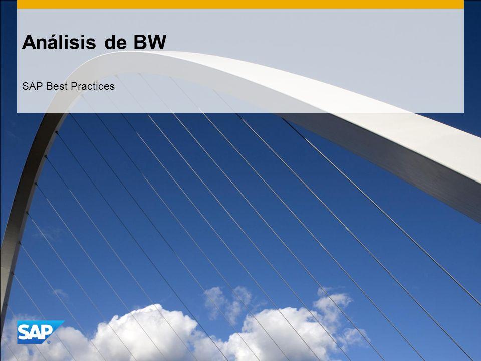 Análisis de BW SAP Best Practices