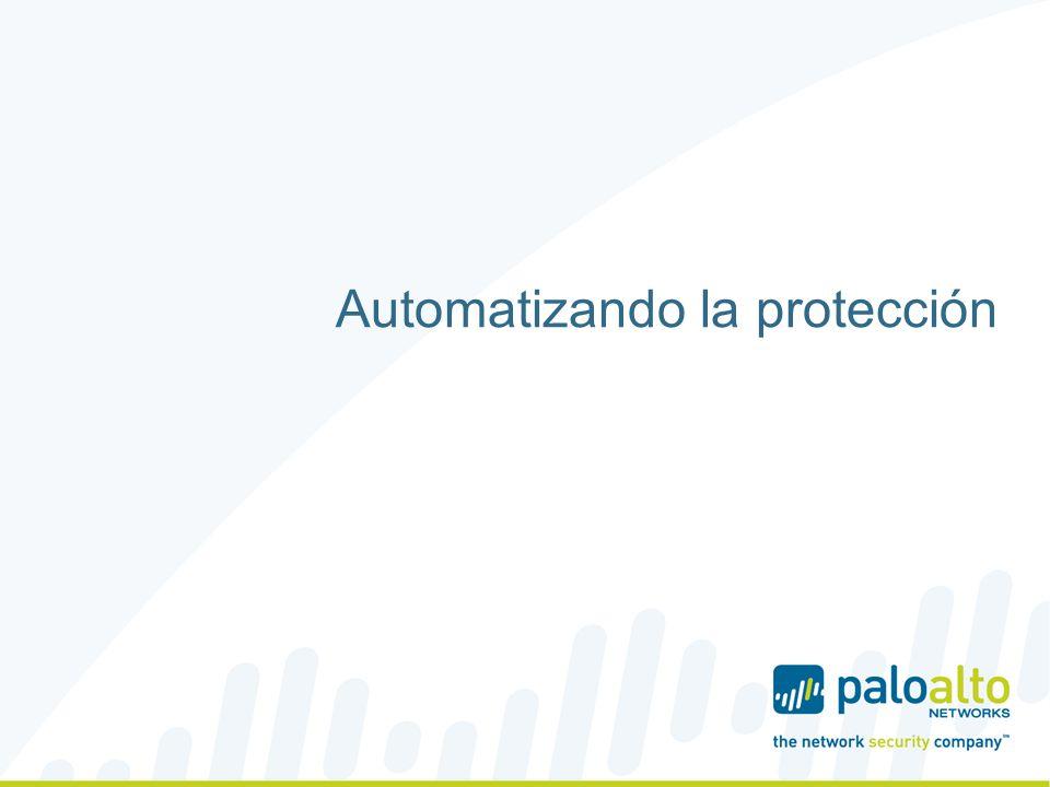 Automatización en el descubrimiento de Zero-days Visibilidad y prevención multigabit en todo el tráfico y todos los puertos (web, email, SMB,...) El malware se ejecuta en la nube con acceso a Internet para descubrir protocolos C2, dominios, URLs y descargas de malware planificadas Se crean automáticamente firmas de malware, DNS, URL y C2 que se entregan a todos los clientes Motor en línea de tipo streaming que realiza el análisis y bloqueo Posibilidad de utilizar una nube local para garantizar la privacidad 8   ©2013, Palo Alto Networks..