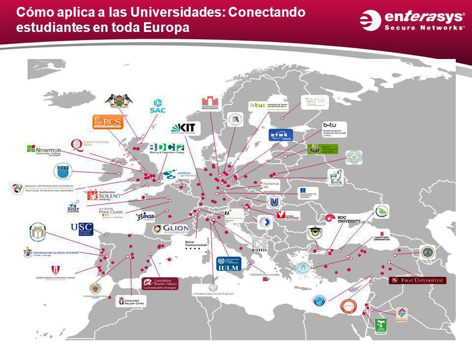 Cómo aplica a las Universidades: Conectando estudiantes en toda Europa