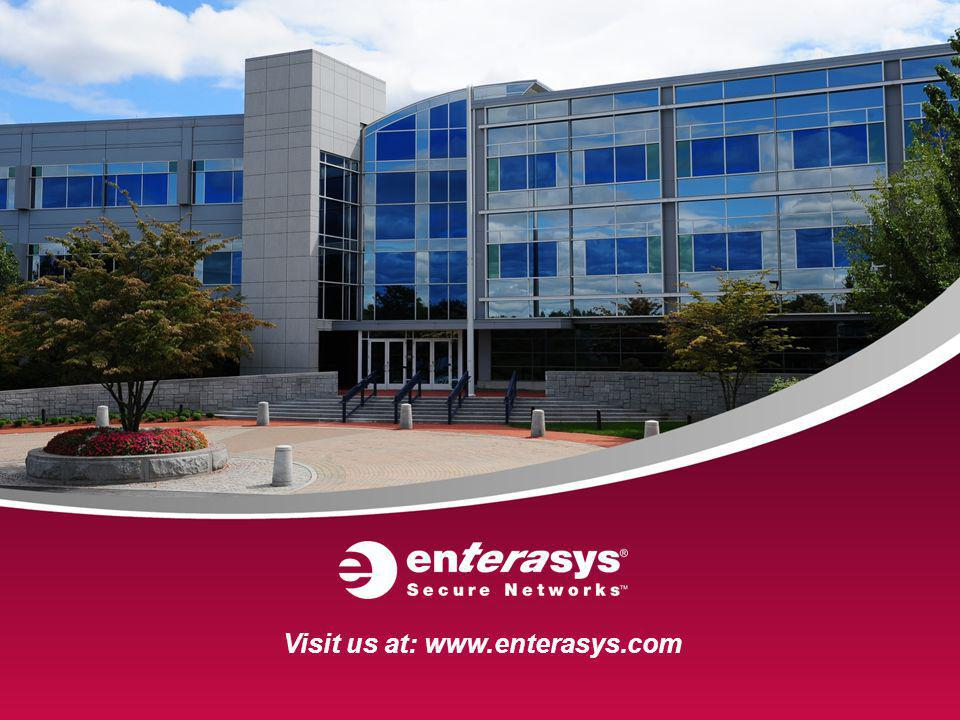 Visit us at: www.enterasys.com