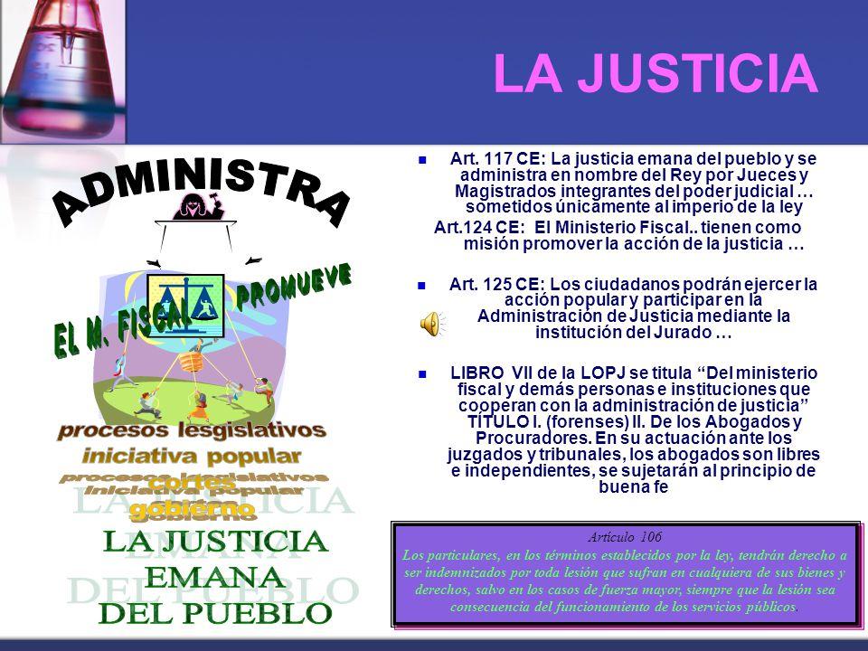 LA JUSTICIA Art.