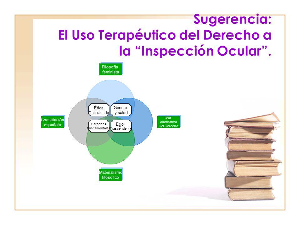 Sugerencia: El Uso Terapéutico del Derecho a la Inspección Ocular.