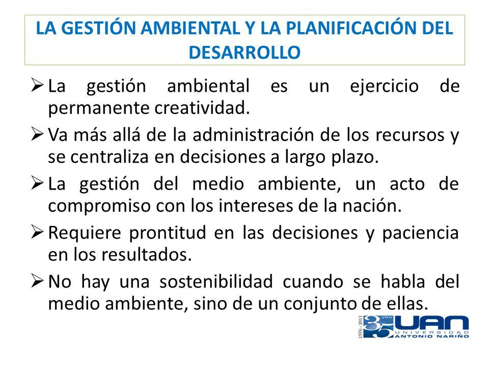 LA GESTIÓN AMBIENTAL Y LA PLANIFICACIÓN DEL DESARROLLO CLASES DE SOSTENIBILIDAD: Sostenibilidad Fiscal.