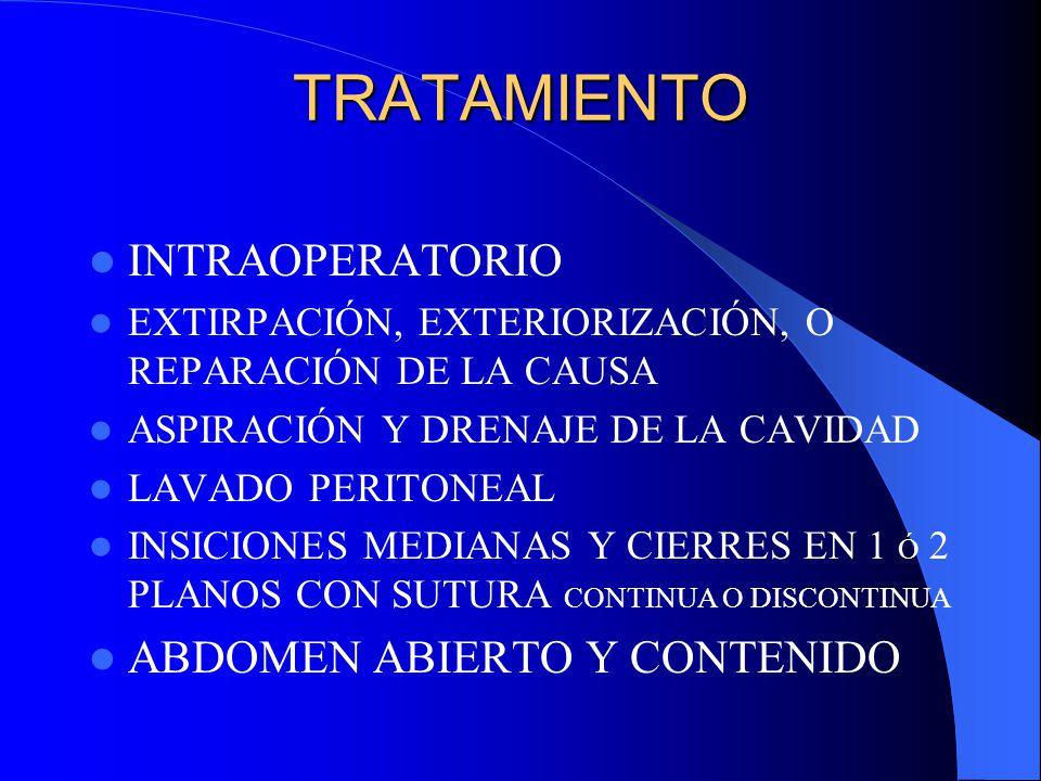 TRATAMIENTO PREOPERATORIO MANTENER VOLUMEN MINUTO ADECUADO REPONER VOLUMEN CORREGIR ALTERACIONES METABÓLICAS APOYAR APARATOS: RENAL,CARDÍACO, GÁSTRICO