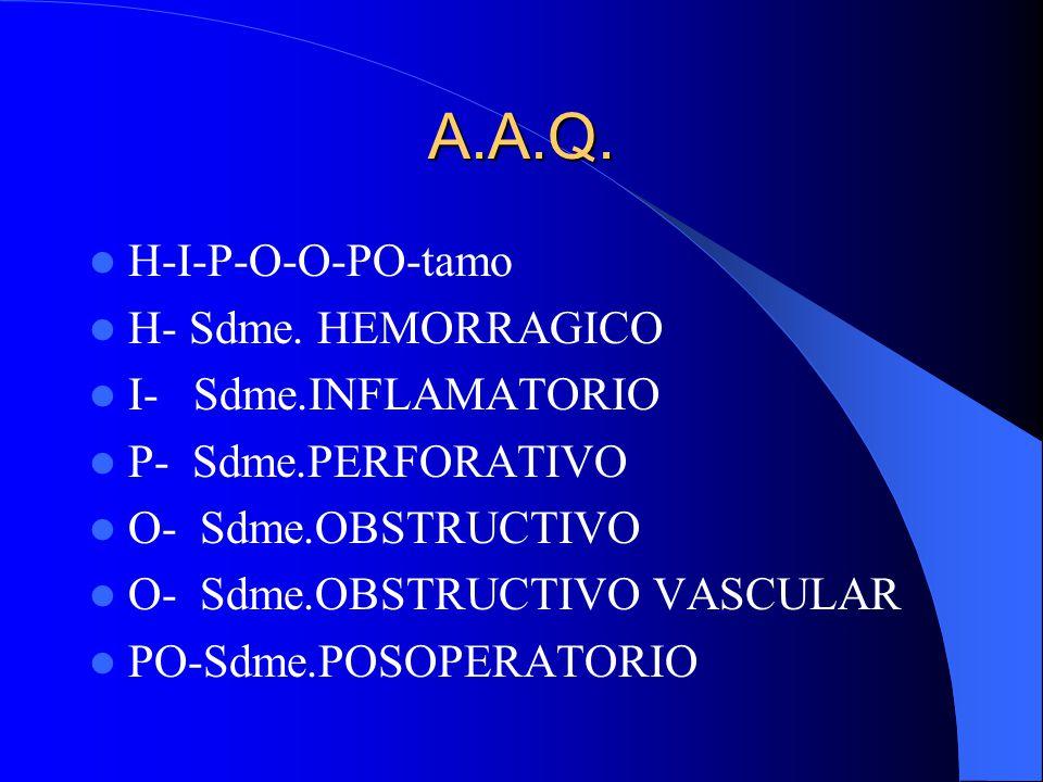 A.A.M. ME-NE-FREC-GA ME- METABÓLICAS (DIABETES,UREMIA, PORFIRIAS) NE- NEUROGÉNICAS, PSICÓGENAS, además, PULMONARES, CARDIOLÓGICAS, DERMATOLÓGICAS, TOX