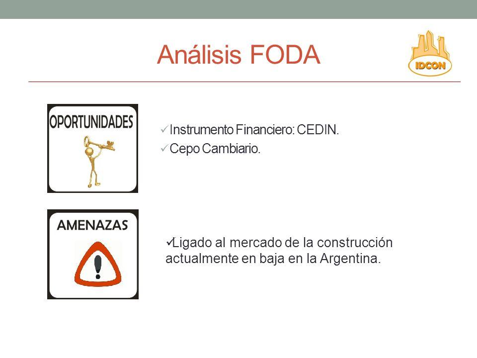 Análisis FODA Instrumento Financiero: CEDIN.Cepo Cambiario.