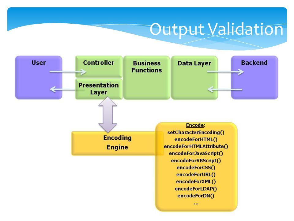 Output Validation