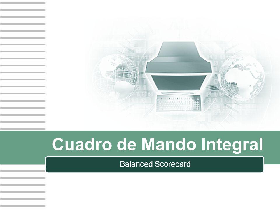 LOGO Cuadro de Mando Integral Balanced Scorecard