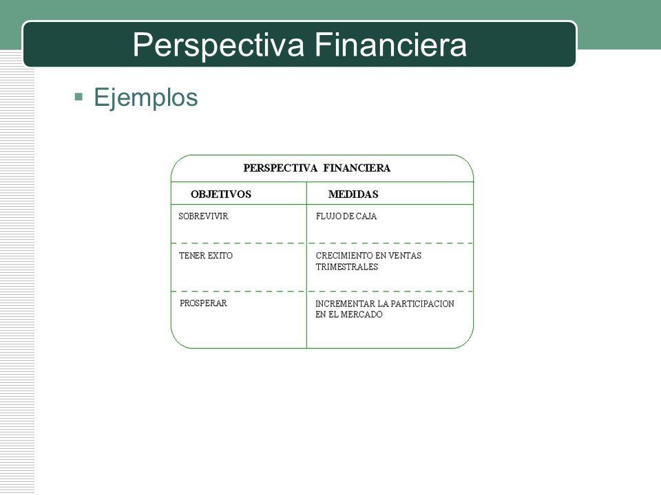 LOGO Perspectiva Financiera Ejemplos